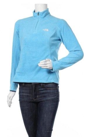 Дамска поларена блуза The North Face, Размер S, Цвят Син, Полиестер, Цена 42,89лв.