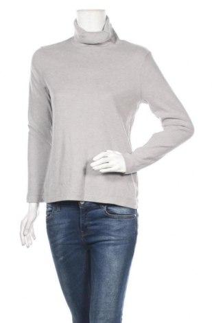 Дамска поларена блуза Uniqlo, Размер L, Цвят Сив, Цена 17,96лв.