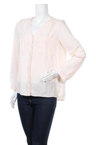 Дамска риза H&M Divided, Размер M, Цвят Розов, Полиестер, Цена 4,46лв.