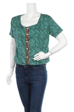 Γυναικείο πουκάμισο Ipanima, Μέγεθος M, Χρώμα Πράσινο, Πολυεστέρας, Τιμή 7,07€