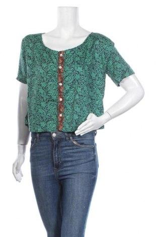 Γυναικείο πουκάμισο Ipanima, Μέγεθος S, Χρώμα Πράσινο, 100% πολυεστέρας, Τιμή 6,06€