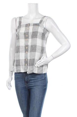 Дамска риза Mango, Размер XS, Цвят Сив, 100% лен, Цена 20,80лв.