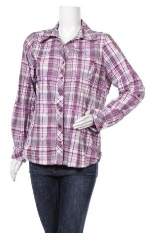 Дамска риза Michele Boyard, Размер XL, Цвят Многоцветен, 55% полиестер, 45% памук, Цена 13,23лв.