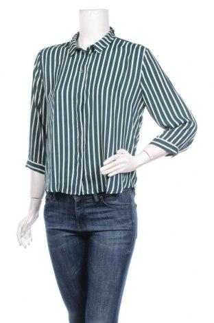 Дамска риза Monki, Размер M, Цвят Зелен, Полиестер, Цена 18,90лв.