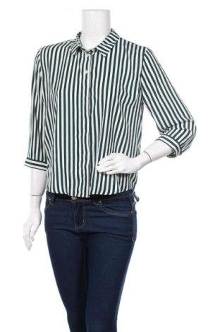 Дамска риза Monki, Размер M, Цвят Бял, Полиестер, Цена 17,85лв.
