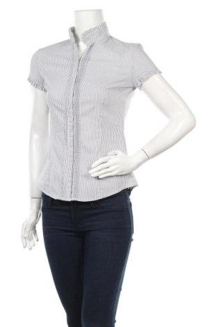 Дамска риза Reserved, Размер S, Цвят Бял, 68% памук, 30% полиамид, 2% еластан, Цена 23,00лв.