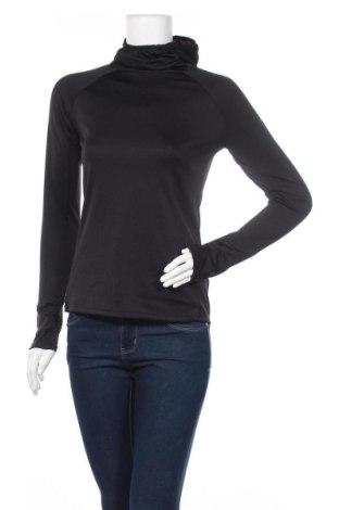 Дамска спортна блуза H&M Sport, Размер S, Цвят Черен, Полиестер, Цена 17,56лв.