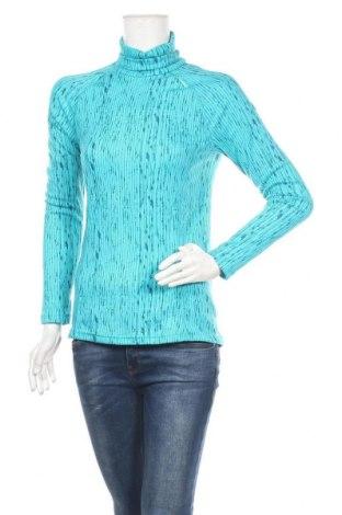 Дамска спортна блуза Wedze, Размер L, Цвят Син, Цена 15,69лв.