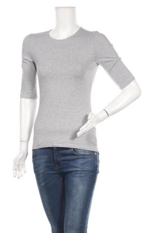 Γυναικείο t-shirt Filippa K, Μέγεθος S, Χρώμα Γκρί, 90% βαμβάκι, 10% ελαστάνη, Τιμή 50,16€