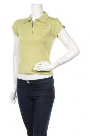 Дамска тениска Hydee by Chicoree, Размер M, Цвят Зелен, Памук, Цена 13,23лв.