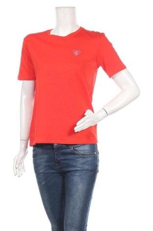 Дамска тениска Jake*s, Размер S, Цвят Червен, Памук, Цена 16,20лв.