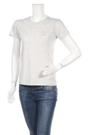 Дамска тениска Review, Размер S, Цвят Сив, 50% памук, 50% полиестер, Цена 17,01лв.