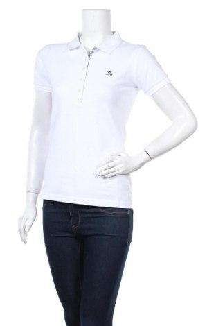 Дамска тениска Sir Raymond Tailor, Размер S, Цвят Бял, 92% памук, 8% еластан, Цена 42,24лв.