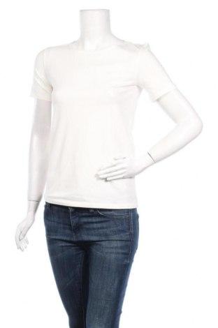 Дамска тениска Weekend Max Mara, Размер XS, Цвят Бежов, 95% памук, 5% еластан, Цена 126,75лв.