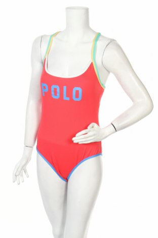 Дамски бански Polo By Ralph Lauren, Размер L, Цвят Оранжев, 90% полиамид, 10% еластан, Цена 64,77лв.