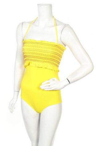 Дамски бански TWINSET, Размер S, Цвят Жълт, Полиамид, памук, еластан, Цена 58,14лв.