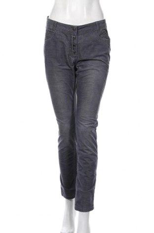 Дамски джинси Miss Beverly, Размер M, Цвят Сив, 65% памук, 33% полиестер, 2% еластан, Цена 27,30лв.