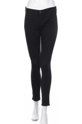 Дамски дънки Hollister, Размер M, Цвят Черен, Цена 33,60лв.