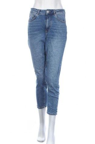 Дамски дънки New Look, Размер M, Цвят Син, 99% памук, 1% еластан, Цена 24,15лв.