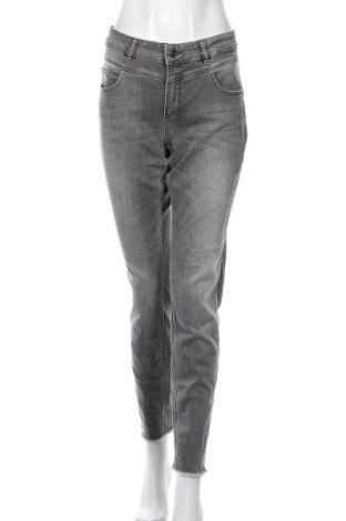 Дамски дънки Oui, Размер L, Цвят Сив, 98% памук, 2% еластан, Цена 44,10лв.