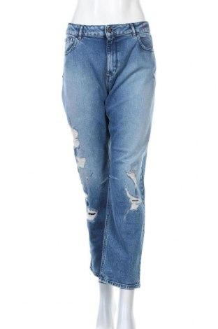 Γυναικείο Τζίν TWINSET, Μέγεθος XL, Χρώμα Μπλέ, 99% βαμβάκι, 1% ελαστάνη, Τιμή 56,91€