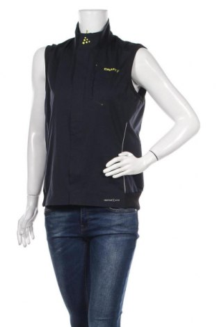 Дамски спортен елек Craft, Размер M, Цвят Черен, Полиестер, еластан, Цена 28,56лв.