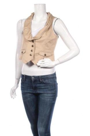 Дамски елек Madison, Размер M, Цвят Бежов, 97% памук, 3% еластан, Цена 6,04лв.