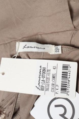 Γυναικεία σαλοπέτα La Morena, Μέγεθος XL, Χρώμα  Μπέζ, Βαμβάκι, Τιμή 12,33€
