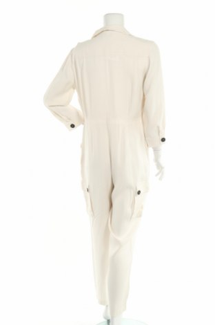 Дамски гащеризон Massimo Dutti, Размер L, Цвят Бял, Вискоза, Цена 52,47лв.
