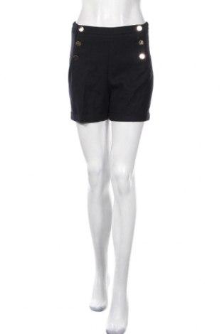 Γυναικείο κοντό παντελόνι H&M, Μέγεθος S, Χρώμα Μπλέ, 65% πολυεστέρας, 33% βισκόζη, 2% ελαστάνη, Τιμή 17,37€