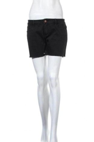 Γυναικείο κοντό παντελόνι SUN68, Μέγεθος L, Χρώμα Μαύρο, 91% βαμβάκι, 7% πολυεστέρας, 2% ελαστάνη, Τιμή 10,61€