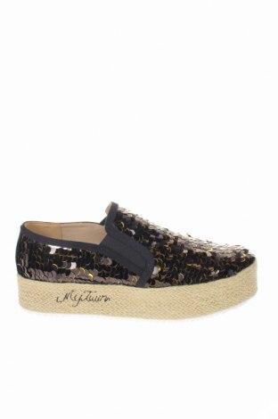 Дамски обувки TWINSET, Размер 40, Цвят Черен, Текстил, Цена 73,01лв.