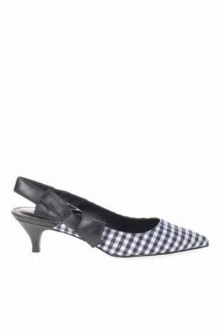 Дамски обувки What For, Размер 39, Цвят Многоцветен, Текстил, естествена кожа, Цена 56,86лв.