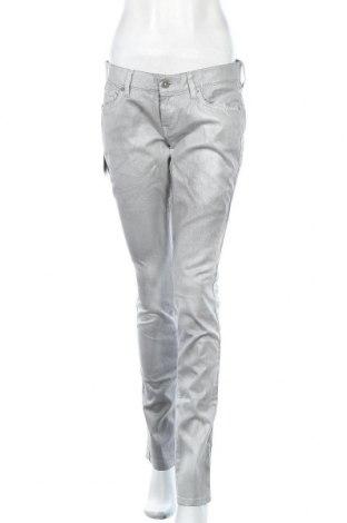 Дамски панталон 7 For All Mankind, Размер L, Цвят Сив, 98% памук, 2% еластан, Цена 48,95лв.