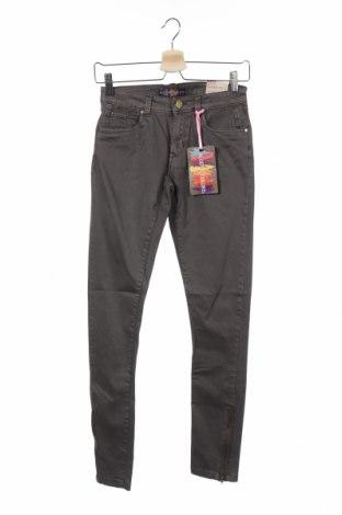 Дамски панталон Alcott, Размер XS, Цвят Сив, 97% памук, 3% еластан, Цена 22,42лв.