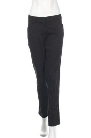 Дамски панталон Blue Motion, Размер XL, Цвят Черен, 98% памук, 2% еластан, Цена 24,15лв.