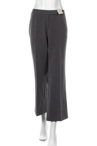 Дамски панталон Dorothy Perkins, Размер L, Цвят Сив, 75% полиестер, 19% вискоза, 6% еластан, Цена 10,93лв.