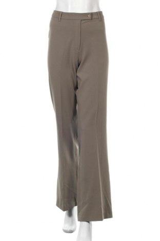 Дамски панталон Gianni Rodini, Размер L, Цвят Зелен, 96% полиестер, 4% еластан, Цена 11,36лв.