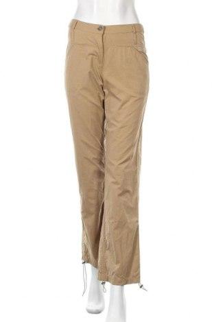 Дамски панталон Gin Tonic, Размер S, Цвят Кафяв, 62% полиестер, 22% памук, 16% полиамид, Цена 21,54лв.