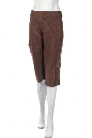 Дамски панталон Janina, Размер 3XL, Цвят Кафяв, 100% памук, Цена 11,70лв.