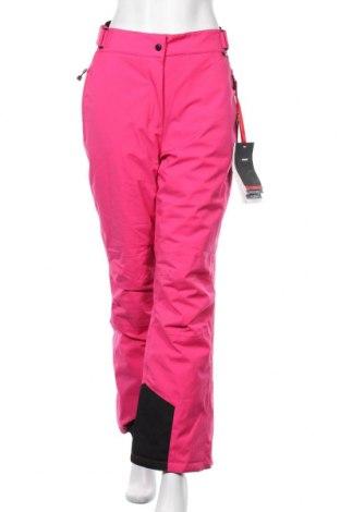 Дамски панталон за зимни спортове Maier Sports, Размер L, Цвят Розов, Полиестер, Цена 177,61лв.