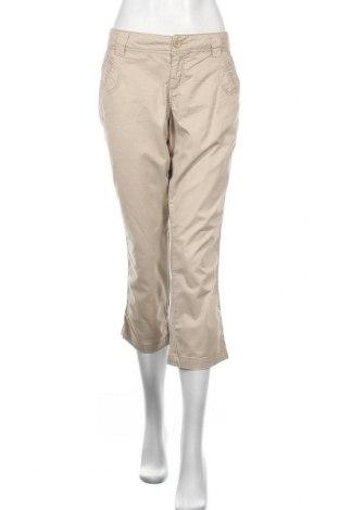Дамски панталон Maurices, Размер L, Цвят Бежов, 98% памук, 2% еластан, Цена 6,05лв.