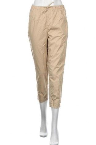 Дамски панталон Monki, Размер XS, Цвят Бежов, Памук, Цена 41,54лв.