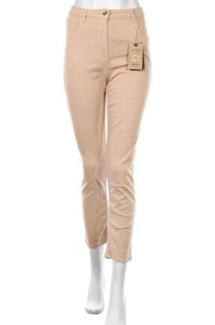 Γυναικείο παντελόνι Patrizia Pepe, Μέγεθος S, Χρώμα  Μπέζ, 98% βαμβάκι, 2% ελαστάνη, Τιμή 47,81€