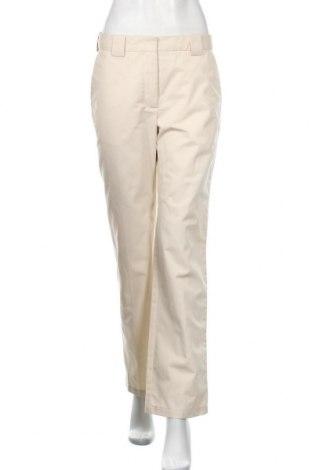Γυναικείο παντελόνι Wood Wood, Μέγεθος M, Χρώμα  Μπέζ, 65% πολυεστέρας, 35% βαμβάκι, Τιμή 45,70€