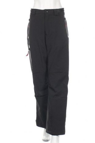 Дамски панталон за зимни спортове Donnay, Размер XL, Цвят Черен, 92% полиестер, 8% еластан, Цена 51,03лв.