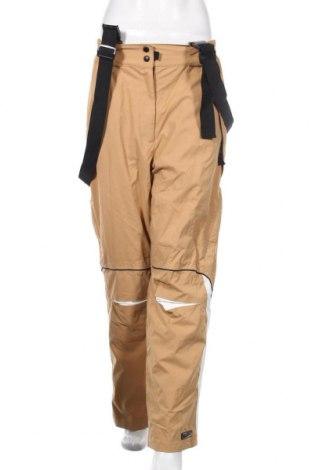 Дамски панталон за зимни спортове Killtec, Размер L, Цвят Кафяв, Полиамид, Цена 55,13лв.