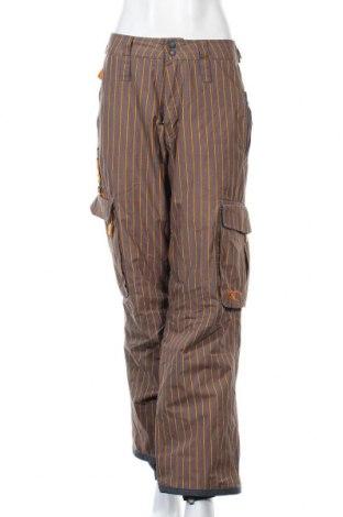Дамски панталон за зимни спортове O'neill, Размер M, Цвят Сив, Полиестер, Цена 47,36лв.