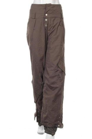 Дамски панталон за зимни спортове O'neill, Размер M, Цвят Кафяв, Полиестер, Цена 54,18лв.