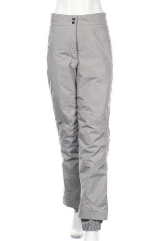 Дамски панталон за зимни спортове Oxylane, Размер M, Цвят Сив, Полиамид, Цена 52,92лв.